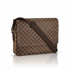 6cf749bcaec9 Louis Vuitton N41148 Damier Ebene Canvas Shelton GM – Ebony   Louisvuittonhandbags