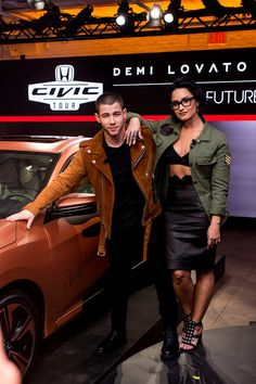 Celebrity & Entertainment | Demi Lovato and Nick Jonas's Latest Appearance Is So Insanely Hot, It's Almost Criminal | POPSUGAR Celebrity Photo 1 Jonas Brothers, Demi Lovato Nick Jonas, Demi Lovato Pictures, Honda Civic, Girl Style, Photography Ideas, Queen, Photo Galleries, Celebrity Photos