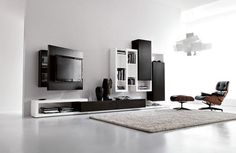 Multifunctional Wall Mount Tv Stand from Fimar