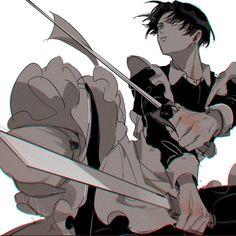 Anime Boys, Anime Cat Boy, Cute Anime Guys, Manga Anime, Maid Outfit Anime, Anime Maid, Attack On Titan Fanart, Attack On Titan Levi, Eren E Levi