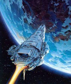 Rampion, Captain Thorne's ship. The Lunar Chronicles