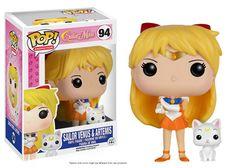 Sailor Moon POP! Vinyl Figure - Sailor Venus w/ Artemis @Archonia_US