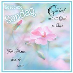 Goeie Nag, Goeie More, Afrikaans Quotes, Sunday, Van, Garden, Garten, Vans, Gardening