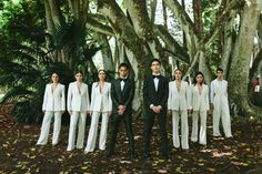 Bridesman, Groomsmaid, Man-of-Honor & Best Lady: If you're having a coed bridal party you'll want to read these tips first! Wedding Styles, Wedding Photos, Wedding Themes, Bridesman, Beach Wedding Reception, Bridal Party Dresses, Bridal Musings, Party Looks, Dream Wedding