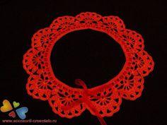 Cute handmade red collar Colar Diy, Collars, Crochet Earrings, Cute, Red, Handmade, Jewelry, Necklaces, Hand Made
