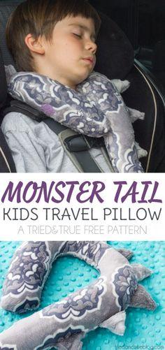 ~~Monster Tail Kid's Travel Pillow~~