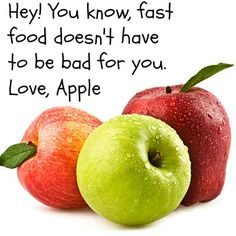 Have you had an apple today?