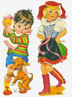Love Is Comic, My Childhood Memories, Vintage Ephemera, Christmas Candy, Retro, Vintage Children, First World, Paper Dolls, Scrap