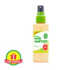 FREE shipping is INCLUDED in the price of the bottle. This is NOT a gel hand sanitizer. This product is a hand sanitizer spray.  The 3 oz homemade alcohol based spray hand sanitizer with all-natural ingredients leaves your hands feeling soft and clean with NO sticky residue!  We did the hard work to source only the best materials for our sanitizer! Our hand sanitizers will never leave your hands sticky and is great for those with sensitive skin!  Perfect for home use, restaurants… Alcohol Free Hand Sanitizer, Natural Hand Sanitizer, Scented Hand Sanitizer, Perfect Image, Perfect Photo, Bed Bug Spray, Diy Laundry Detergent, Homemade Alcohol, Natural Aloe Vera