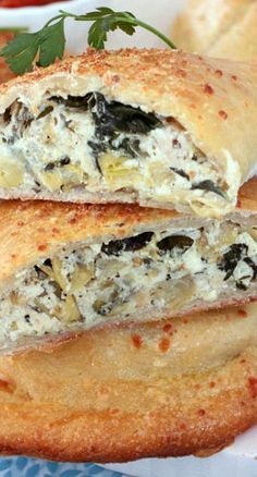 Not tried yet. Chicken, Spinach and Artichoke Calzones.  Would like this for a pizza topping?