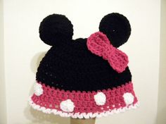 minnie mouse beanie =)