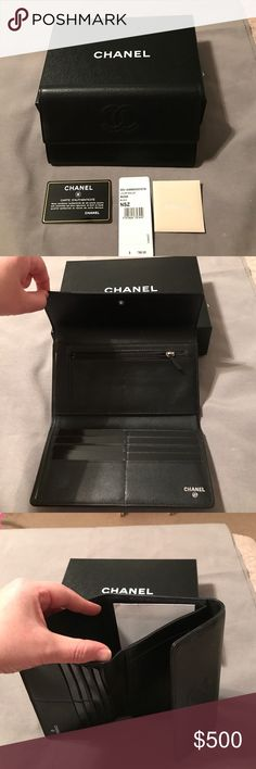 Chanel L-FLAP wallet Chanel caviar leather wallet. Used only a few times. Comes with original packaging, authenticity card, and box. CHANEL Bags Wallets