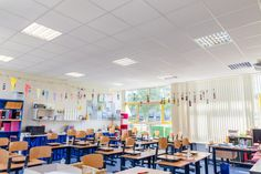 Led-verlichting-Led-TL-60cm-led-downlight-School-Louise-de-Coligny