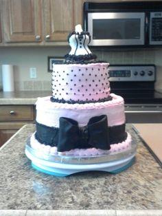 Lingerie Shower Cake By PLAmom on CakeCentral.com