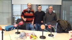 E&P Sarea: ayer grabamos programa con Xabi Unanue ( Iñaki Zarauz ( y Joseba Egia se emite