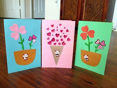 Kid's valentines day cards:)