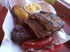 Pappy's Smokehouse. One of the best. If you want to avoid the lines-carryout.