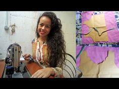 Como fazer peças de roupa com técnica Scalloped com Alana Santos Blogger - YouTube