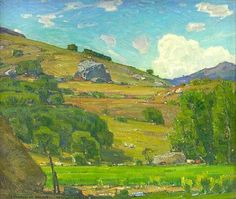 Pasture lands by William Wendt