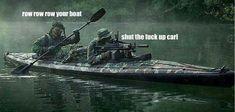 Thats how i row - LOL Semper Fi!