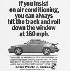 The Porsche 911 is a truly a race car you can drive on the street. It's distinctive Porsche styling is backed up by incredible race car performance. Porsche Classic, Classic Cars, Porsche 911 Rsr, Porsche Motorsport, Porsche Carrera, Porsche 2017, Vintage Advertisements, Vintage Ads, Best Adverts