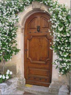 Beautiful jasmine over the door