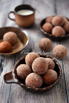 Mini pączki bezglutenowe z mascarpone Churros, Snack Recipes, Healthy Recipes, Snacks, Polish Desserts, Healthy Sweets, Healthy Food, Gluten Free Recipes, Dairy Free
