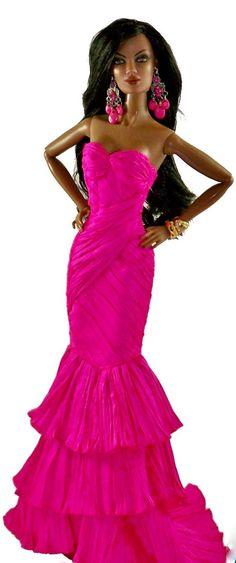 barbie doll evening gowns..mDu 2013 Nigeria  . 12 28 2