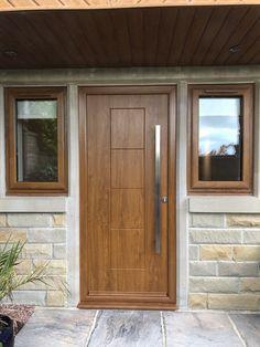 Rockdoor manufacture the most secure Front doors, Back Doors and Barn Doors in the UK - Design your dream door today at www.rockdoor.com. Oak Front Door, Back Doors, Composite Door, Light Oak, Stables, Garage Doors, Barn, Industrial, Windows