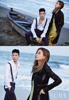 Jo Min Ho, Lee Ho Jeong by Shin Seon Hye for Sure Korea May 2015