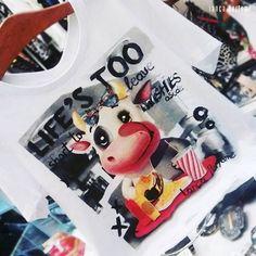 """""""Pausa para o lanche com a nossa tshirt da linha #ilovetees!  #lancaperfume #lplovers #lpsummer16  Disponível na eshop.lancaperfume.com.br! Ref. 233780"""""""