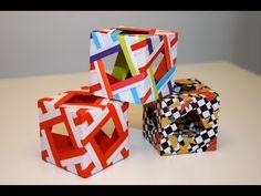 Origami - Cube décoratif - Decorative Cube