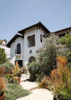 Michael C. Hall's Spanish-Style Renovation - October 2014 - Lonny