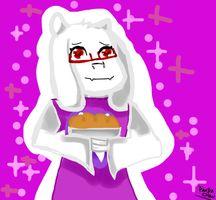 Toriel (Undertale) by Panda-Chan377