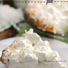 This Coconut Cream Pie recipe is easy and delicious! The graham cracker crust and flaked coconut make this dessert amazing! It's the perfect summer dessert!