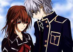 vampire knight zero and yuki love - Google Search