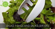 Find the ideal salad tongs and server tools for preparing delicious salads. Serving tongs are perfect for salads when you need a good grip on your vegetables. Good Grips, Salads, Herbs, Tools, Canning, Vegetables, Accessories, Instruments, Herb