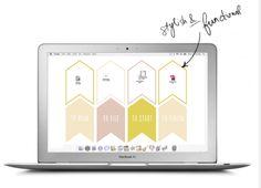 Desktop wallpaper for organization | Cool Mom Tech