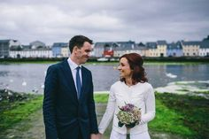 A small and friendly celebration in Galway: Elisa and Barry's Completely Vegan Wedding | Confetti