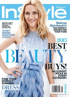 Reese Witherspoon Wows (and Charms) Inside the May 2015 InStyle #InStyle