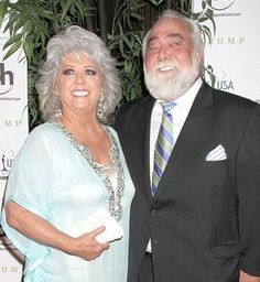Paula Deen and husband Michael Groover. I will not be watching Food Network until Paula comes back! Celebrity Couples, Celebrity Gossip, Celebrity Photos, Cooking Show Hosts, Grillin And Chillin, People News, Girl Cooking, Famous Couples, Paula Deen