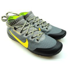 NEW NIKE FREE HYPERFEEL RUN TRL TRAIL Running WOMENS Light Charcoal $150 #Nike #Running