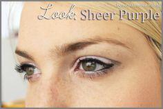 Look ♥ Sheer Purple - www.beautyflamenatasja.nl #makeup #makeupjunkie #makeupgeek #makeupaddict #makeupart #makeupeye #eye #eyes #look #sheer #oriflame