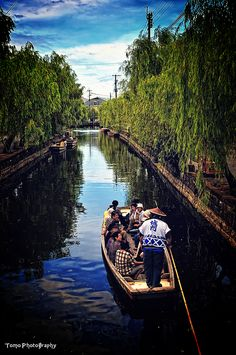 Canal cruising in Yanagawa, Fukuoka, Japan: photo by *WindyLife