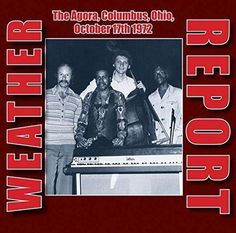 WEATHER REPORT - THE AGORA BALLROOM, CLEVELAND OH 14 DECEMBER 1983 (2 x 180GLP )