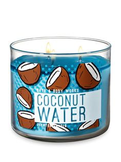 Bath & Body Works candle- Coconut Water Full size candle from Bath and Body Works Brand new, never used oz Scent is Coconut Water Fragrance notes: coconut milk, creamy vanilla, pineapple Bath & Body Works Makeup Bath Body Works, Bath And Body Works Perfume, Bath Candles, Tea Light Candles, Soy Candles, Scented Candles, Custom Candles, Handmade Candles, Good Enough