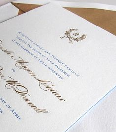 William Arthur Wreath Monogram Wedding Invitation Available At Judy Paulen  Designs