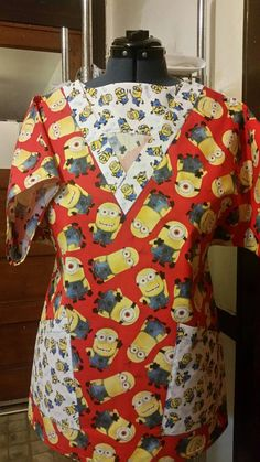 Check out this item in my Etsy shop https://www.etsy.com/listing/490706772/minions-character-medical-scrub-48-large