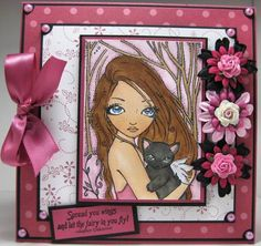 Sweet Kitten by StampynWife - Cards and Paper Crafts at Splitcoaststampers