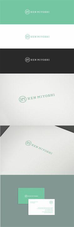 Ken Miyoshi, dermatologist - Branding by Deividas Bielskis www.contrast8.com